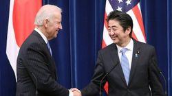 安倍首相、アメリカ副大統領と会談 中国の防空識別圏を認めず