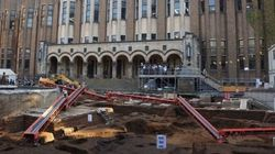 東大本郷キャンパスで「風立ちぬ」に登場の帝大図書館跡を発掘