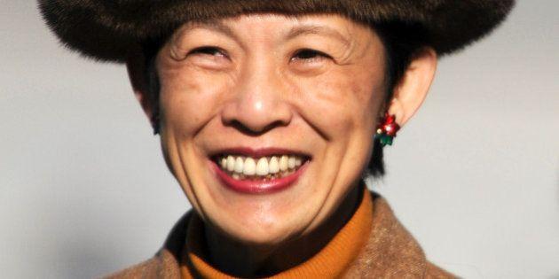 SAITAMA, JAPAN - DECEMBER 24: Princess Hisako Takamado looks on prior to the 34th Empress's Cup All Japan...