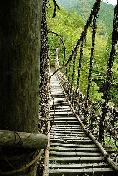 日本の「かずら橋」も:「世界のクールな橋」のギャラリー
