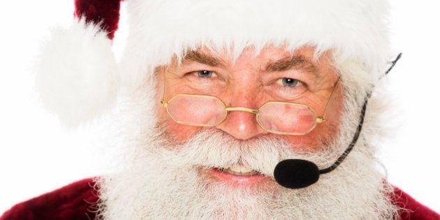 サンタクロースが防空識別圏の設定で心配されている?