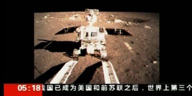 「嫦娥3号」月面着陸に成功 中国が宇宙大国アピール【写真ギャラリー】
