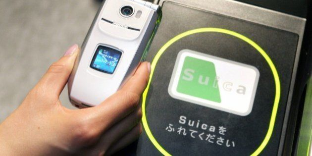 JAPAN - FEBRUARY 22: Mobile Phones To Be Used As Train Tickets, Commuter Passes, Prepaid Cards In Tokyo,...