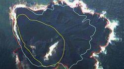 小笠原の新島「数年は残る」