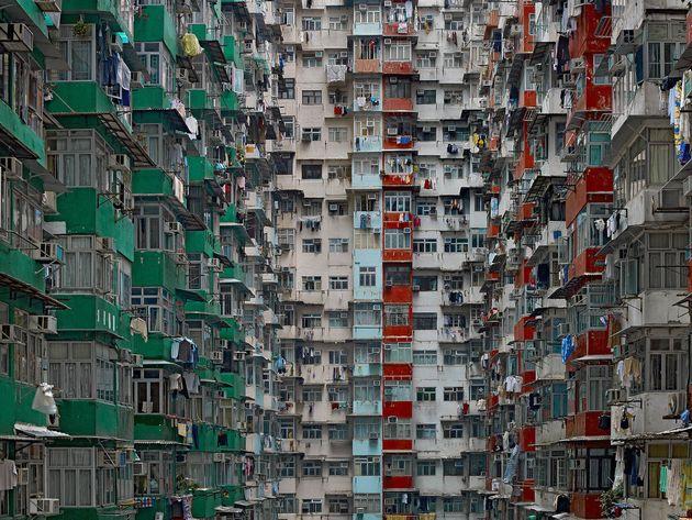 フォトショップで加工しているようにみえる高層ビル群【画像】