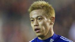 本田圭佑、ACミランへの移籍を正式発表