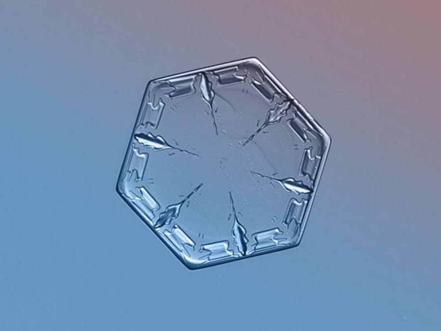 息を飲むほど美しい雪の結晶(画像)