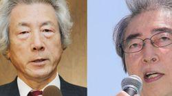 細川護煕元首相、小泉元首相と会談後に出馬を正式表明