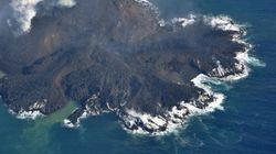 小笠原の「新島」、成長しすぎて西之島と合体も【動画】