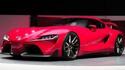 トヨタが新型スーパーカーの試作車を発表