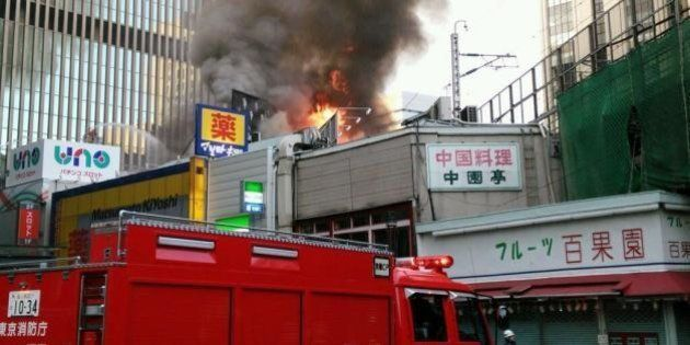JR有楽町駅前で火災 東海道新幹線・山手線など一時運転見合わせ