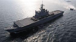 釣り船と衝突した海自の輸送艦、「