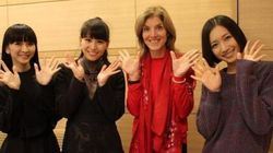 Perfumeの東京ドーム公演にキャロライン・ケネディ大使が訪れる