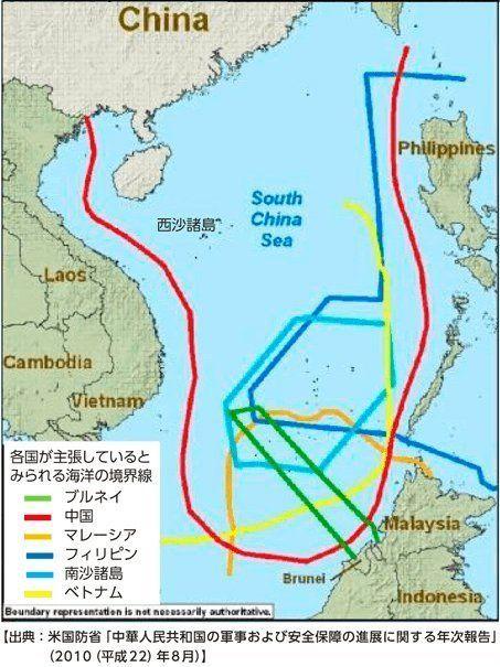 中国、南シナ海で外国漁船の取締りを強化 日本の排他的経済水域でも海警局が漁船立ち入り