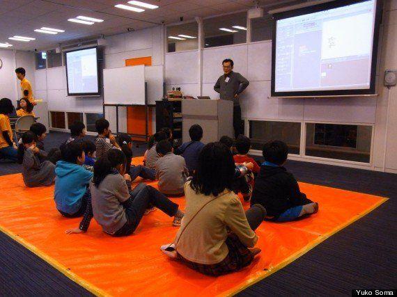 Googleも支援するCANVASの子供向け「プログラミング」ワークショップ「2時間でゲームができた!」