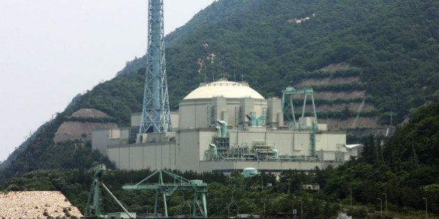 The building which houses the fast breeder reactor stands at Japan Atomic Energy Agency's Monju nuclear...