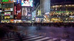 スローモーションでとらえた渋谷が幻想的で美しい