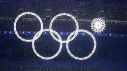 ソチオリンピック開会式 五輪が「四輪」になった失敗、テレビでは成功映像に プーチン大統領は見ていた?