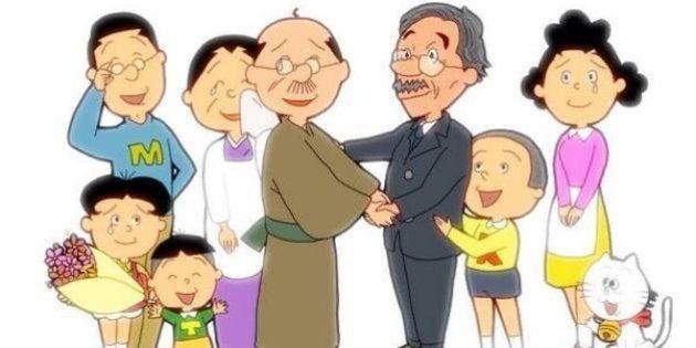 【サザエさん】永井一郎さん「最後の波平」視聴率23.7%を記録 イラストやラテアートで別れを偲ぶファンも