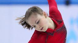 リプニツカヤ圧巻 フィギュア団体、ロシアが金メダル