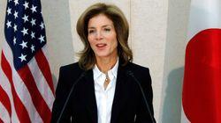 キャロライン・ケネディ大使が「イルカ漁反対」