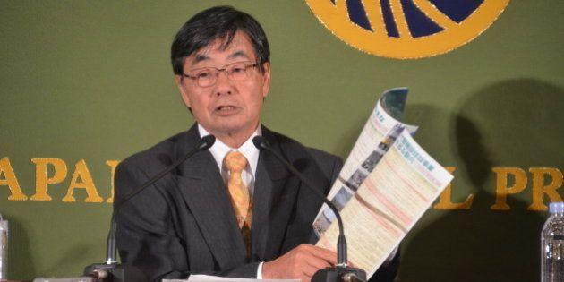 稲嶺進・名護市長、辺野古移設は「日本の民主主義が問われる」