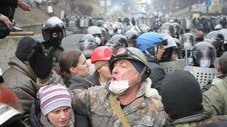 ウクライナ衝突、死者75人に