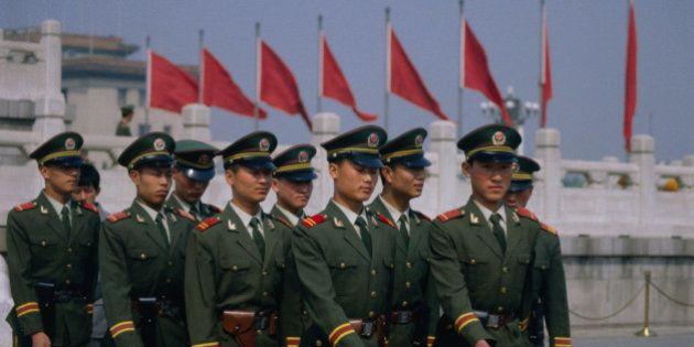 中国、2014年も軍事費をさらに増加