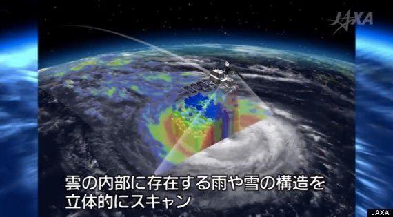 H2Aロケット23号機、打ち上げ成功 世界で一つしかない「DPR」、気象衛星ひまわりと何が違う?