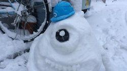 気合が入りすぎている「雪だるま」画像集