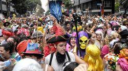 リオのカーニバル、90万人のお祭りはパレードで最高潮に【画像】