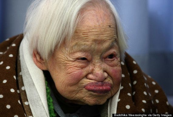 世界最高齢の日本女性、116歳の誕生日
