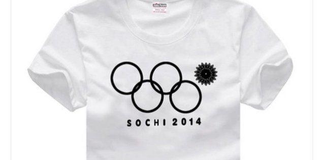 ソチオリンピック開会式のトラブル「四輪」Tシャツ、中国で販売される【画像】