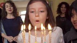 「戦争をすれば、子供はこうなる」少女の一瞬を描いた動画が心を打つ