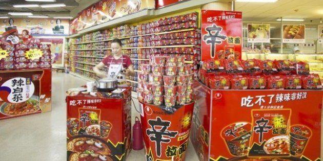 韓国「辛ラーメン」中国で史上最大の売り上げ