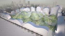 「核の冬」になった中国で「ドーム建設」の提案