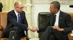 オバマ氏、クリミア住民投票「完全に拒否」