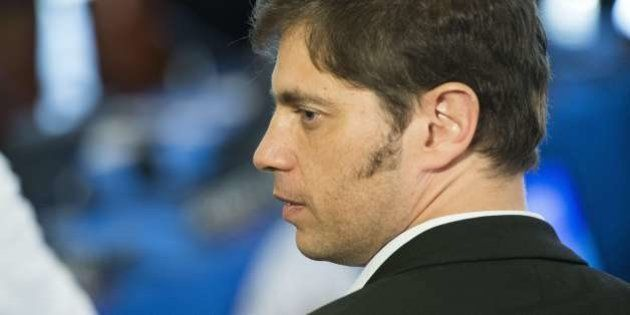 Argentinian Finance Minister Axel Kicillof attends the Organization of American States Meeting of Consultation...