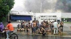 中国で工場爆発、65人死亡150人負傷 江蘇省昆山市、粉じん着火か
