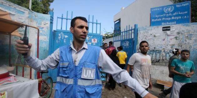 イスラエル軍がガザの国連運営学校を空爆、10人死亡