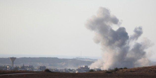ガザ地区、7時間の一時停戦へ