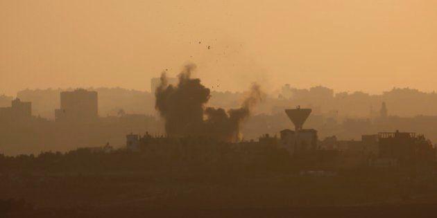 イスラエルとハマス、72時間の停戦入り イスラエル軍はガザから撤収