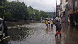 近畿各地で大雨 京都市で猛烈な雨、五山の送り火は「実施予定」