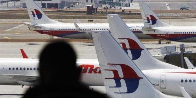 マレーシア航空機の捜索