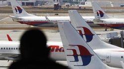 マレーシア機の捜索