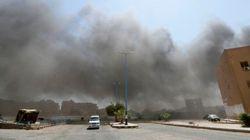 シリア政府軍が「イスラム国」を空爆