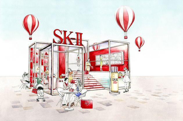 SK-Ⅱのマーケティング担当者が目覚めた、上司からの