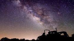「あ、流れ星!」満天の星空をとらえたタイムラプス動画が本当に美しい