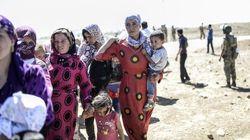 イスラム国がシリア北部で攻勢、トルコのクルド避難民10万人超に
