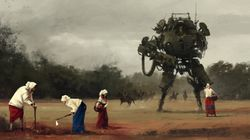 もし第一次大戦直後に巨大ロボットが実用化されていたら......【画像】
